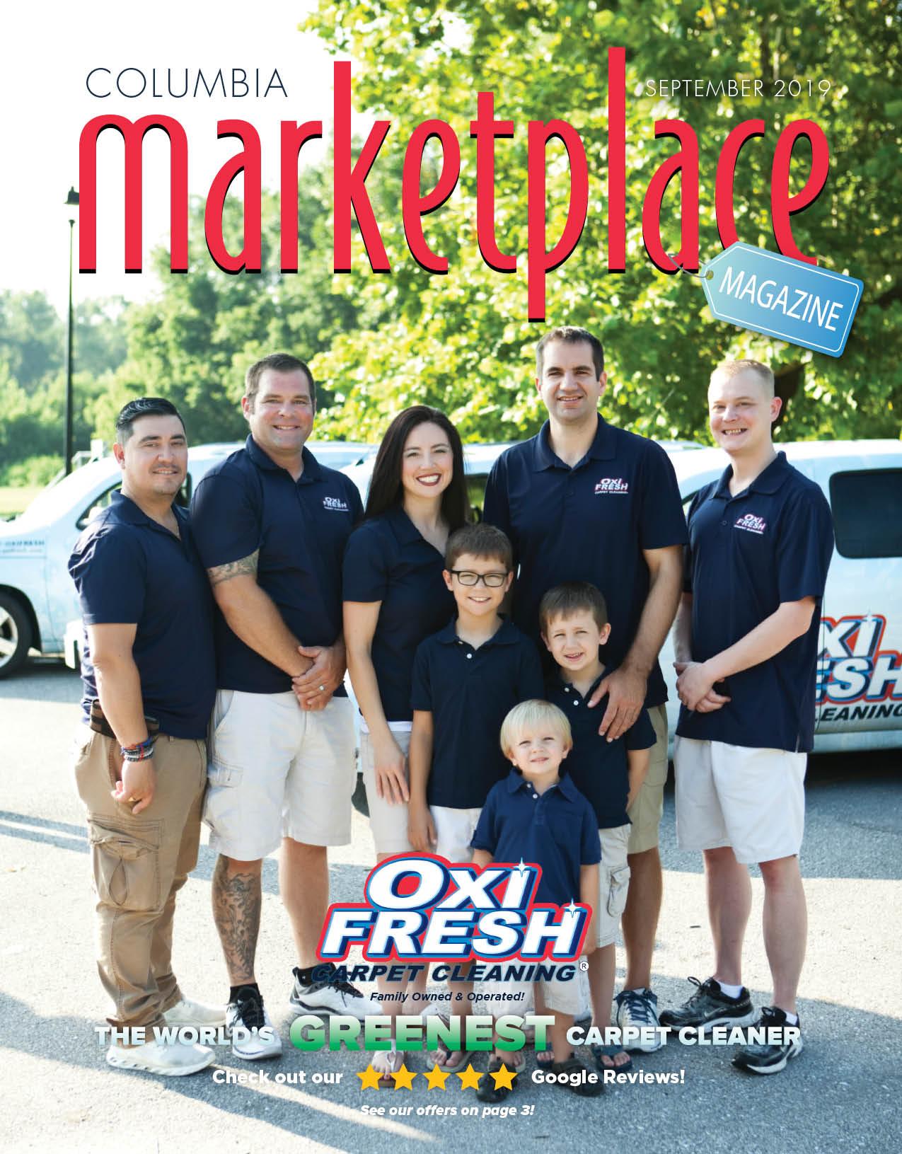 Marketplace Magazine Columbia MO September 2019 Cover