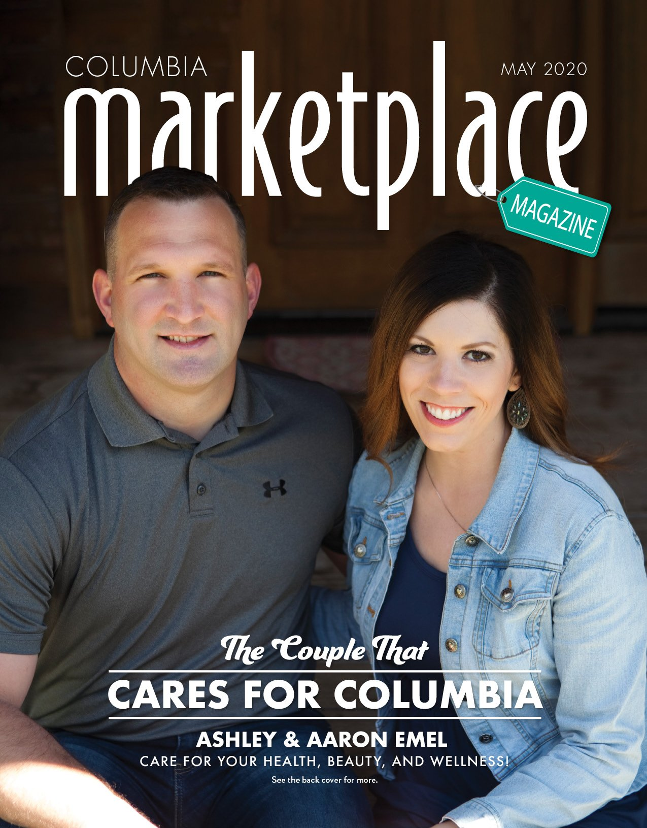 Marketplace Magazine by Modern Media Concepts May 2020 Edition Featuring Ashley and Aaron Emel Compass Chiropractic Wellness Columbia Missouri 1