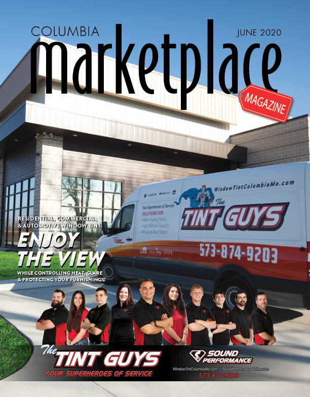 Marketplace Magazine by Modern Media Concepts June 2020 Edition Featuring The Tint Guys Sound Performance Columbia Missouri