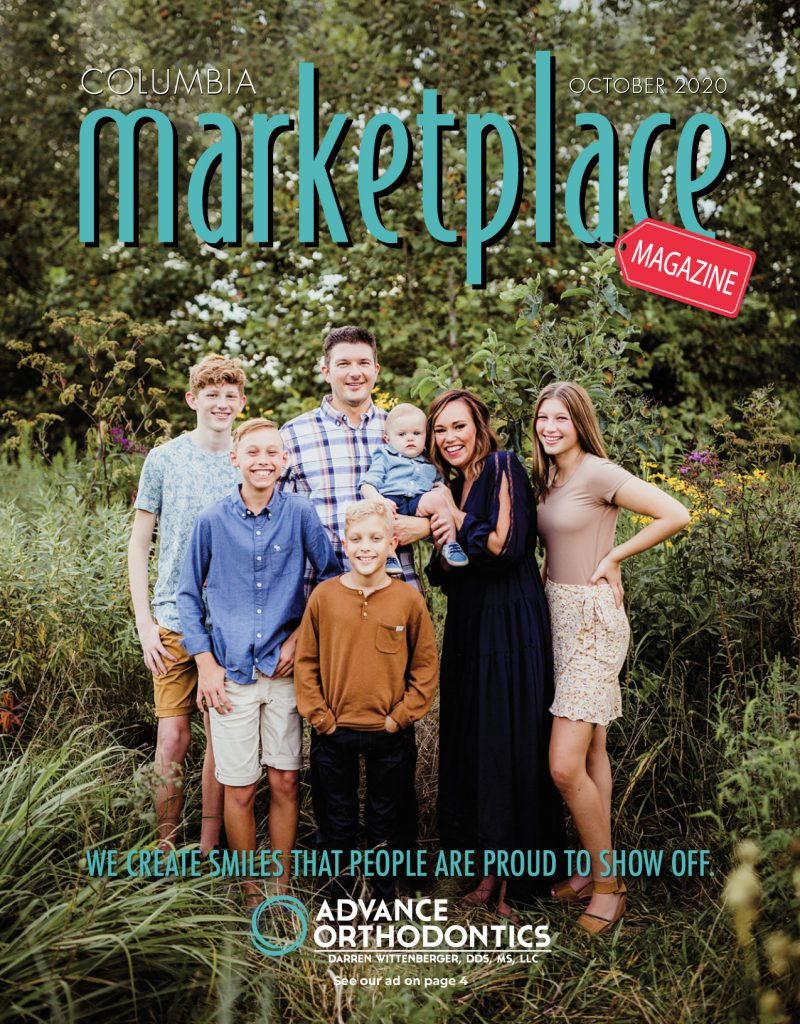 Marketplace Magazine by Modern Media Concepts October 2020 Edition Featuring Advance Orthodontics Darren Wittenberger DDS Columbia Missouri 1