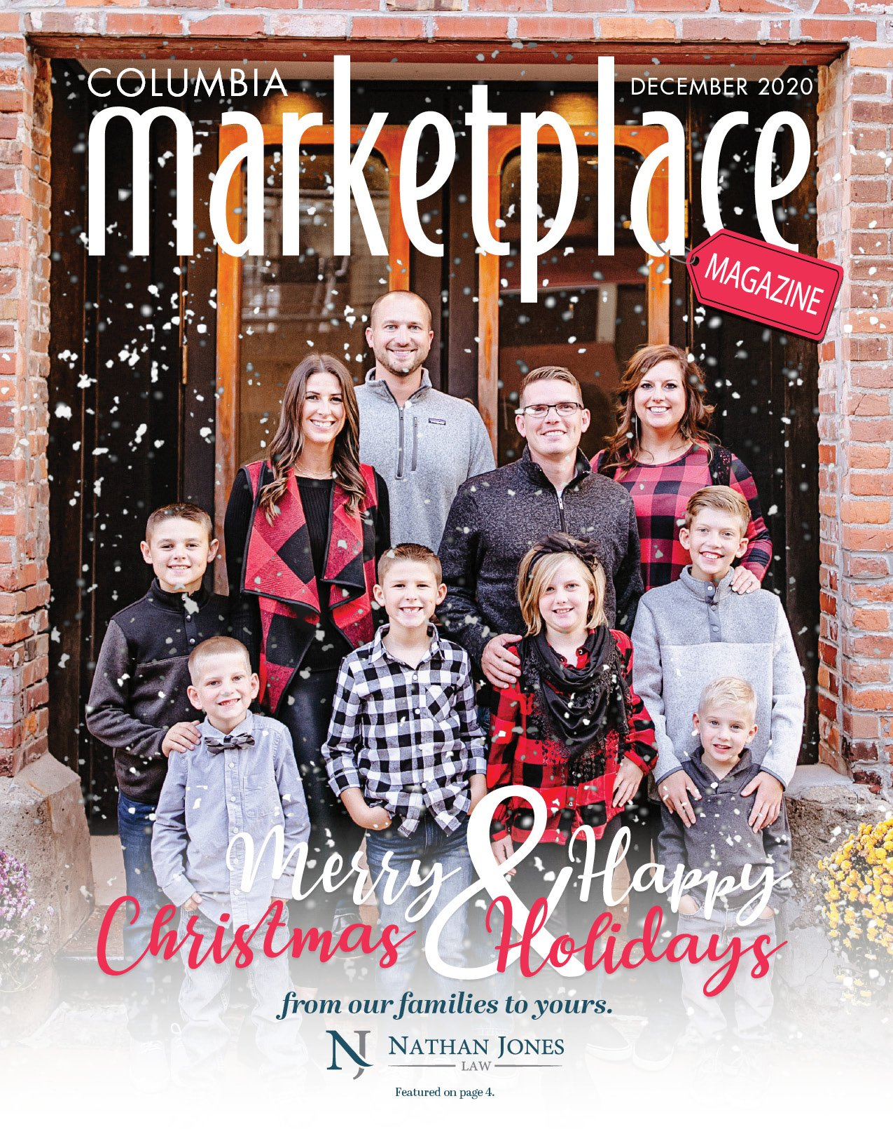 Marketplace Magazine by Modern Media Concepts December 2020 Edition Featuring Nathan Jones Law Columbia MO 1