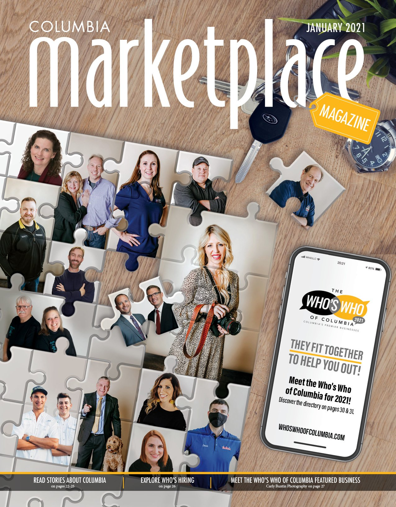 Marketplace Magazine by Modern Media Concepts January 2021 Edition Whos Who of Columbia Missouri 1