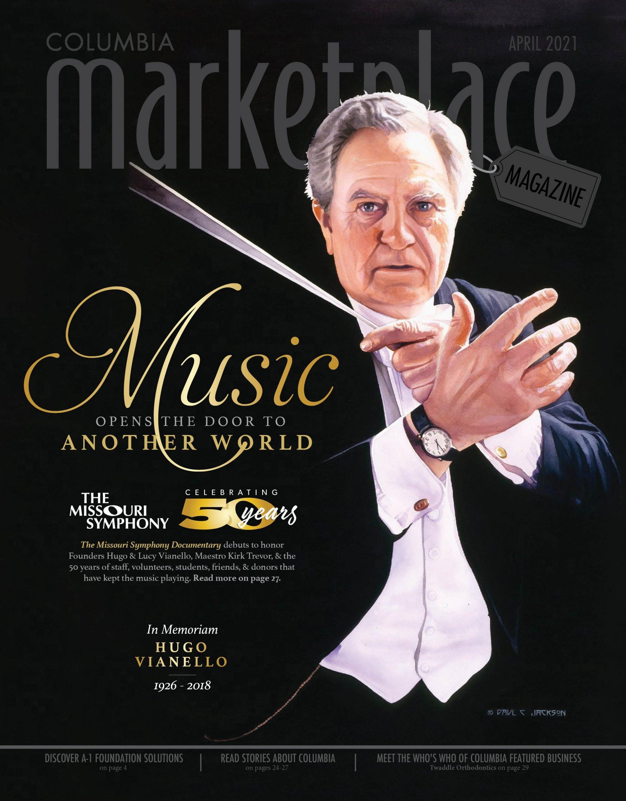 Marketplace Magazine by Modern Media Concepts Missouri Symphony Music Hugo Vianello April 2021 1