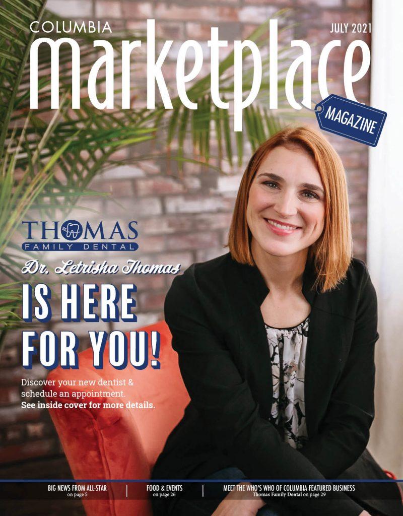 Marketplace Magazine By Modern Media Thomas Family Dental July 2021